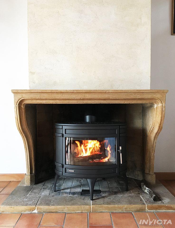 Poêles à Bois dans cheminée existante